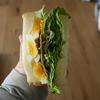 コープ自然派のベーコンでBLEサンドイッチ