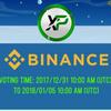 【上場はほぼ決まり!?】仮想通貨XPのBinance上場投票祭りまとめ【1票でも多くの投票をお願いします】