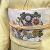 【着物コーディネート帖】石掛絞りの色無地着物で小学校の入学式に出席
