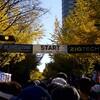 無人の倉庫街と高速下を淡々と駆け抜けた「横浜マラソン」