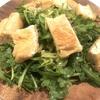 野菜高騰のせいで節約にならぬが美味い 春菊サラダ