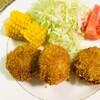 7月9日★揚げ物が食べたい!ホクホクの男爵イモを使ってコロッケを揚げました!はふっはふっ言いながら熱々のコロッケを召し上がれ★