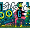 エレクトロニック・ミュージック・スタジオって何?2017年10月18日のGoogleロゴ
