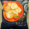 ヤマザキビスケット アツギリ贅沢ポテト 3種の濃厚チーズ味