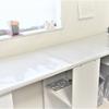年末大掃除。ついでに作業台を設置しました。