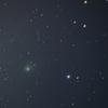 5月最後のパンスターズ彗星と6月最初の月
