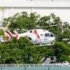 2018年5月6日(日)神奈川県ドクターヘリ JA6924 東海大学医学部付属病院