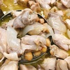 鶏肉とひよこ豆の塩煮