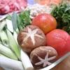 夏休み最終日は夏野菜ですき焼き!