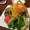 サラダをお腹いっぱい食べる贅沢