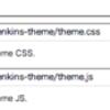Jenkins に独自の CSS と JS を挿し込むプラグイン作った