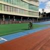 千葉競輪場で久しぶりにレース強度で走ってみる。