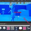 3Dウィジェットにはポストプロセスマテリアルが効くし、ライトもあてられる
