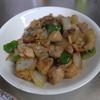 幸運な病のレシピ( 1751 )朝:鶏モモ甘酢炒め、鮭、シシャモ、カボチャ、味噌汁
