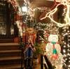 世界一浮かれた住宅街のイルミネーション(NY・ブルックリン)