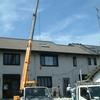 屋根塗装 短い足場作り