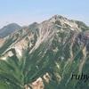 鷲羽岳。8月中旬。