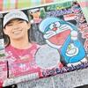 藤子プロがプロゴルファー渋野日向子選手にドラえもんイラストとコメントを贈る