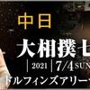 「四丁目企画」「大相撲七月場所」中日の取組み8番の勝敗と最高点を予想して下さい。