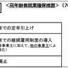 70歳までの就業機会確保(改正高年齢者雇用安定法)(令和3年4月1日施行)