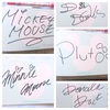ディズニーでキャラクターから上手にサインもらうための3つのコツ。