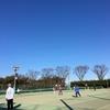 テニス初め。