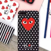 COMME des GARCONSコムデギャルソンplayハードiPhone8ケース