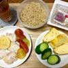 7月19日の食事記録~玄米&納豆+玉子の和食メニューは栄養バランス◎