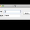 PyQt5でさくっとGUIを作る