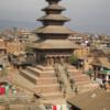 ネパ-ルの宮廷と寺院・仏塔 第183回     カトマンドゥ盆地の寺院と仏塔 バクタプルの王宮と寺院