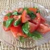トマト&バジルのさっぱりサラダ