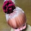 メルちゃんの髪飾り(フェルト使用)
