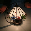 シンプルなランプシェードも素敵
