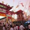 チュイトゥイ神社がきらめいていた夕方 3日目-プーケットべジタリアンフェスティバル2017