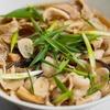 干し椎茸と豚バラ肉の汁ビーフンのレシピ