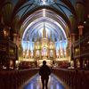 カナダ・モントリオール ノートルダム大聖堂での完璧な瞬間
