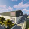 【Minecraft】工業団地に倉庫をつくる
