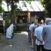 八坂神社 宵宮祭執り行われる。