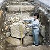 姫路城の「備前門」石垣、西の玄関口で初確認
