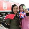 英国と中国結ぶ初の貨物列車