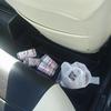 車内ゴミ箱設置を熟考する