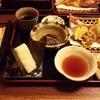 山びこ 天ぷら定食を食べた
