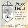 5/23無観客無料配信(投げ銭制)「Message from Unico」お手伝いします。