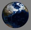 matplotlibとMayaviでNASAの画像を『地球儀』にしてみた。