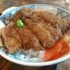 【といや】独特のカレー風味カツ丼!谷地名物「ソースカツ丼」がウマい!│河北町