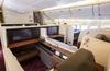 日本航空 B777-300ER/W84 ファーストクラス JL725 成田→ジャカルタ搭乗記 2017年