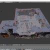 hololensの空間マッピングデータをBlenderで編集する