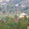 左大文字山 からの金閣寺展望