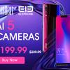 ノッチ付スマホ「Elephone A5」が週間セールの12月3日~12月10日に特価23,079円!お掃除ロボットも安い!