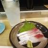 街のお寿司屋さんへ行く